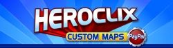 The Heroclix Custom Maps Logo