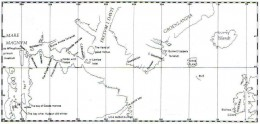 Henry Hudson literally filled in the gaps on old maps like this one.