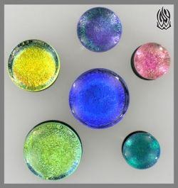 GlassWear Studios brand foil plugs