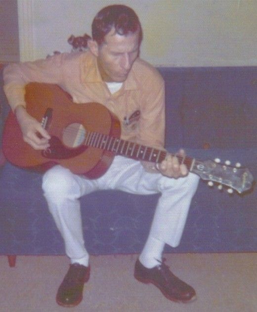 Daddy in 1973