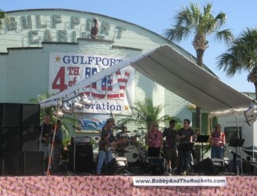 Bobby & The Rockets - One of Gulfport's Favorite Bands