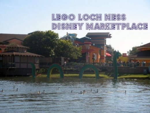 Lego Loch Ness at Disney Marketplace