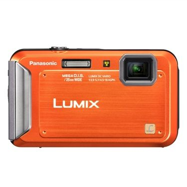 Best Digital Camera Under 200 - Panasonic Lumix TS20 16.1 MP TOUGH Waterproof Digital Camera with 4x Optical Zoom