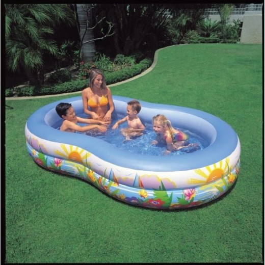 Intex Recreation Swim Center Paradise Lagoon Pool, For age 3 +
