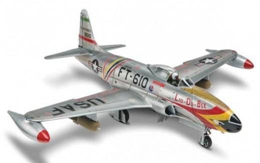 Monogram 1/48 F-80 Shooting Star Plastic Model Kit
