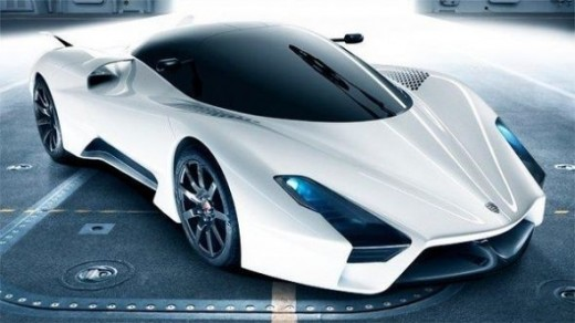 The worlds fastest sport car - SSC Ultimate Aero II