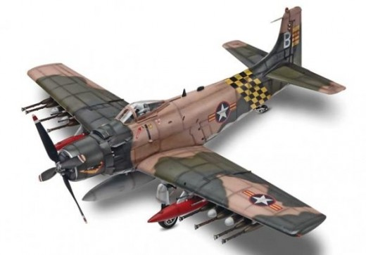 Revell : 1/48 AD-6 Skyraider Plastic Model Kit