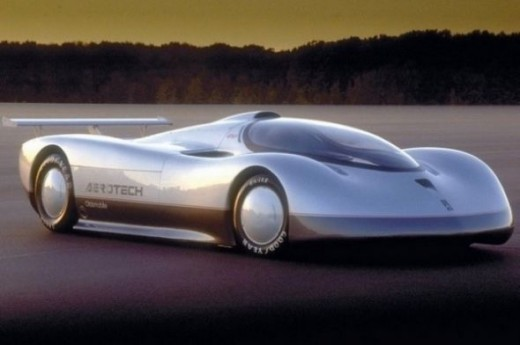 The worlds fastest car - Oldsmobile Aerotechs ST/LT