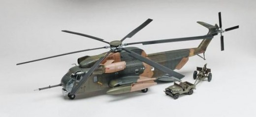Revell : 1/48 HH-53C Super Jolly Green Helicopter Plastic Model Kit