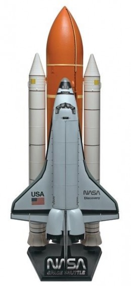 Revell : 1/72 Space Shuttle with Fuel Tank and Boosters Plastic Model Kit