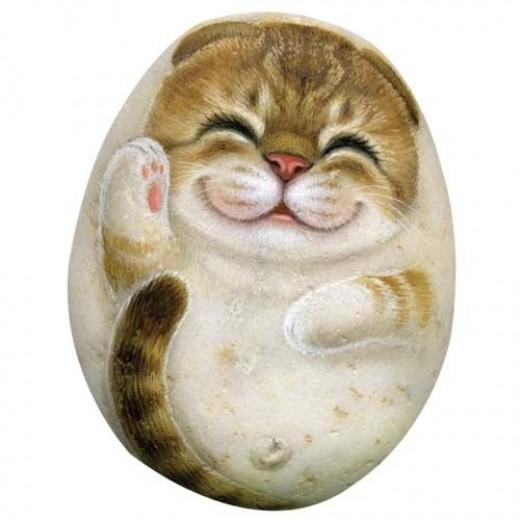 Henry Cats and Friends - ArtStones - Bella