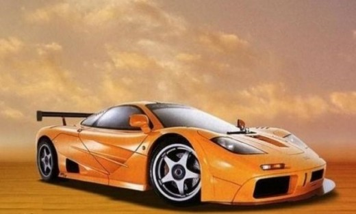 The top speed car - Mclaren F1 LM