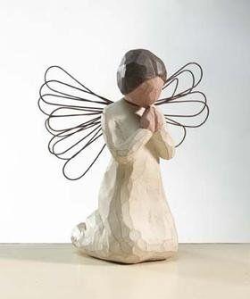 Angels figurines - Angel of Prayer