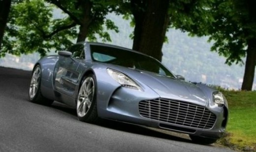 The world's top speed car - Aston Martin One-77