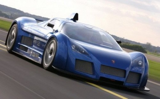 The top speed car - Gumpert Apollo
