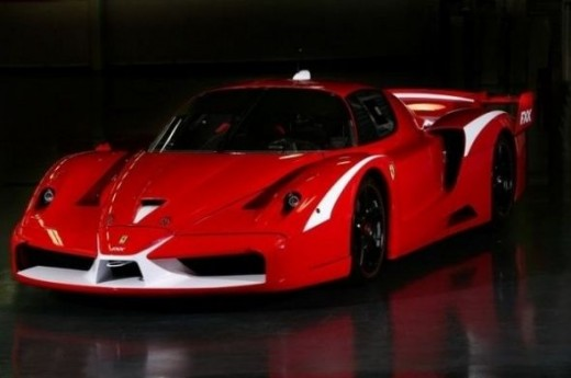 The world's top speed car -Ferrari FXX