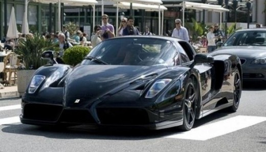 The world's top speed ca - Ferrari Enzo