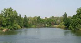 Long Water, in Kensington Gardens