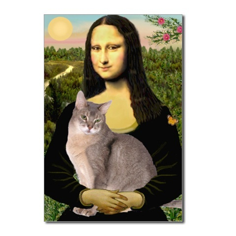 Mona Lisa had a cat?