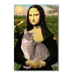 Mona Lisa had a cat?