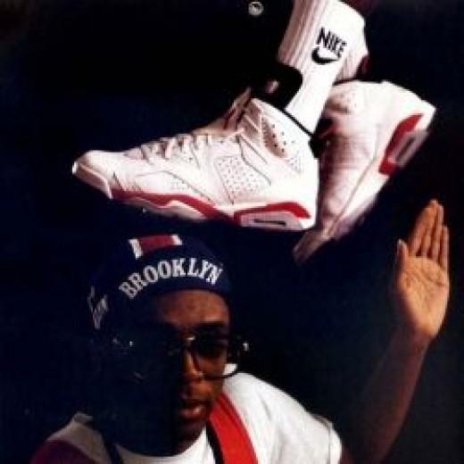 Spike Lee and Air Jordan 7's