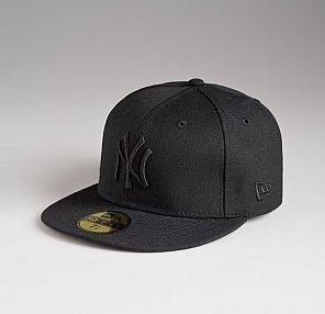 NY Yankee Hat Black