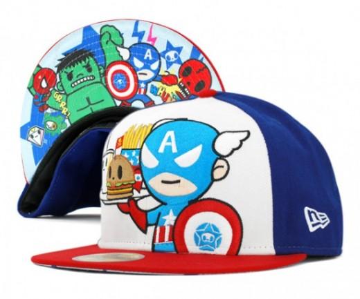 Captain America TokiDoki Hat