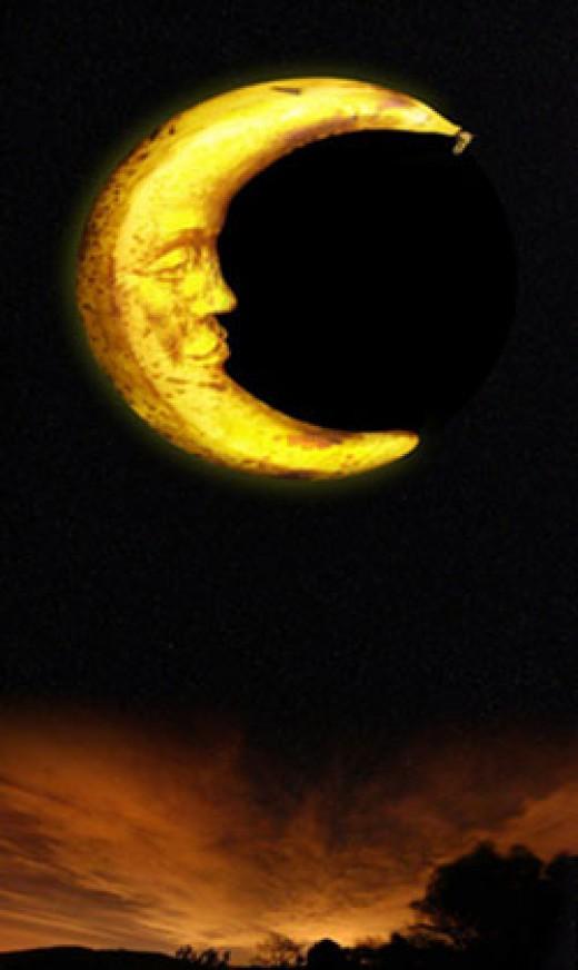 bannana moon
