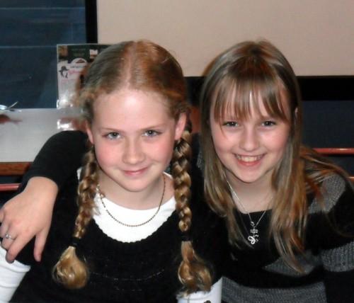 Cirena's 11th birthday with best friend Jasmine
