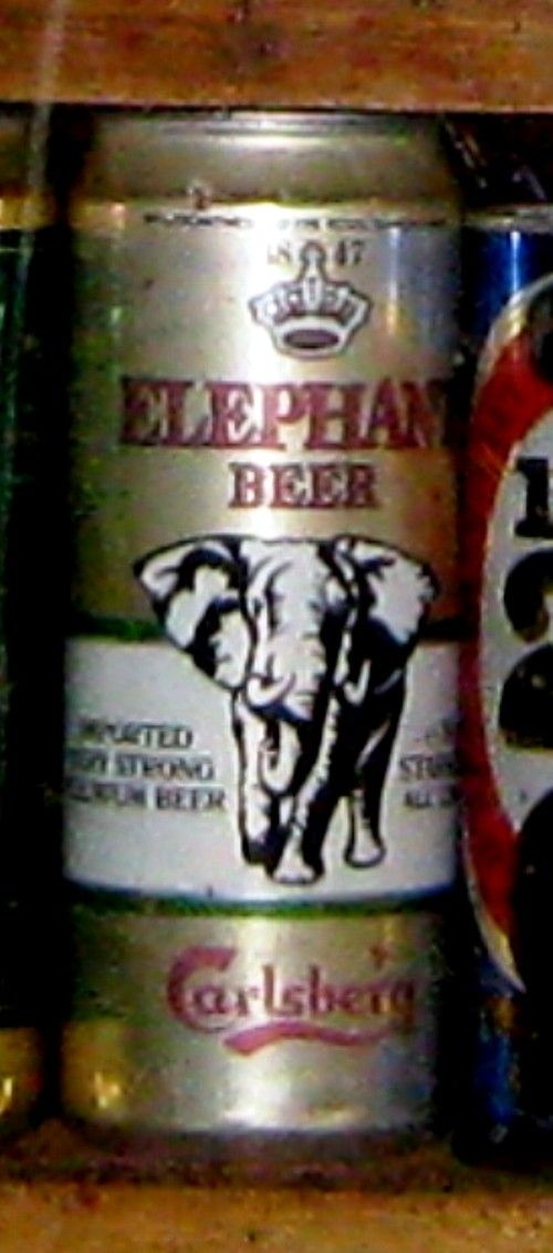 Elephant Beer from the Carlsberg 'stable'