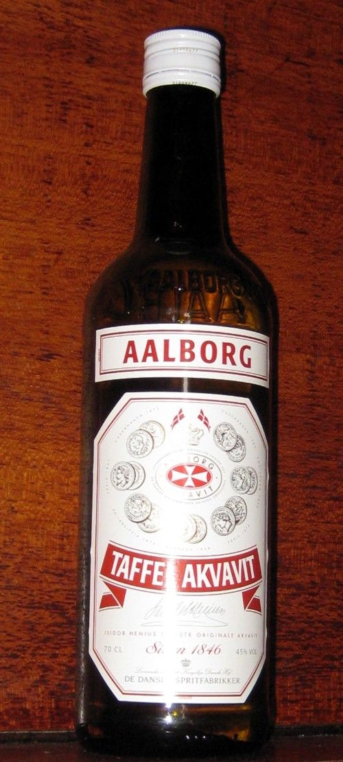 Everyday Snaps (45% alc/vol) - truly!  A Danish cousin has one every morning without fail ... and he's 74!  Well-ll-ll.