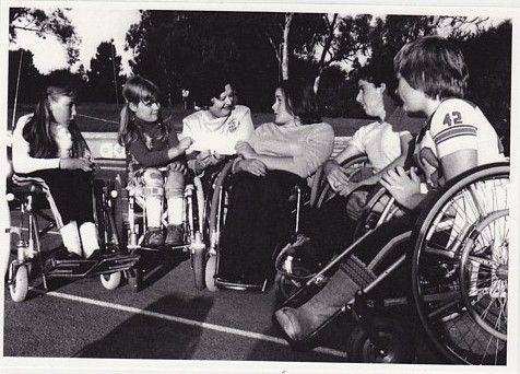 Mum's Spina Bifida 'kids' - earlier days