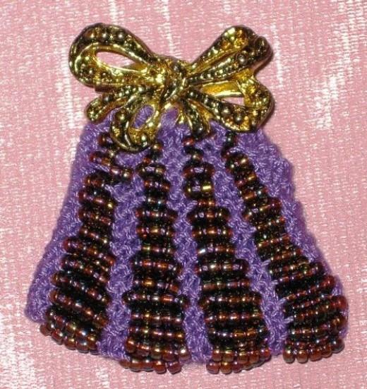 Passionate for Purple? 'Purse' Brooch