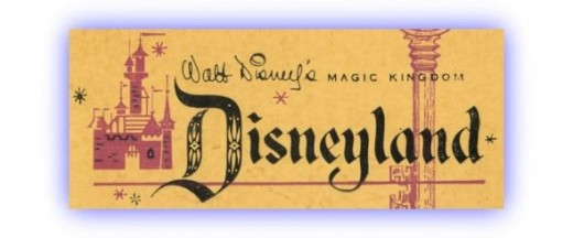 Vintage Disney Ticket