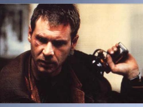 Harrison Ford as Deckard