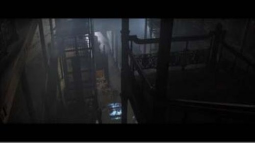 Historical Bradbury Building as a scene location in Blade Runner.