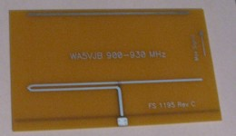 900-930 MHz PCB yagi antenna