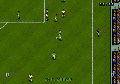 This Soccer game was known for fantastic gameplay than it was for flashy graphics.