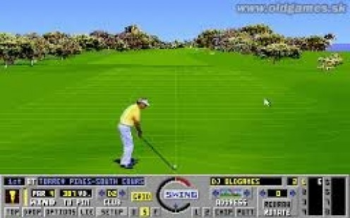 The Challenge of Golf utilized improved graphics, sound and Golf techniques to make this game fun from start off the tour to the championship.