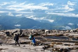 Stunning views from up Mount Kinabalu