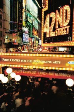 Broadway lights, New York