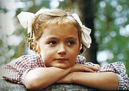 Nadia (played by Mikhalkov's young daughter Nadia). This image filled the movie with warmth and special meaning.