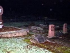 Paranormal Activity and Ghostly Images Captured on Camera in Cemetery