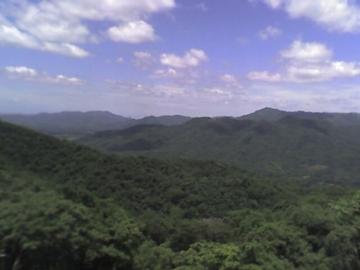 View from the sky - we got lost driving around Costa Rica, but it was worth it for the views, except when I panicked about the roads disappearing into crumbling soil and ravines below.