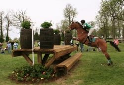 Photo of Sara Mittleider and El Primero at 2006 Rolex Kentucky Three Day Event