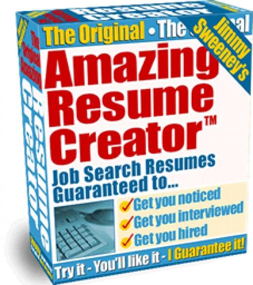 Amazing Resume Creator Program