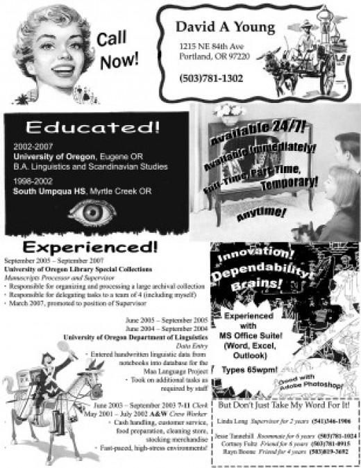 50s Advertising inspired