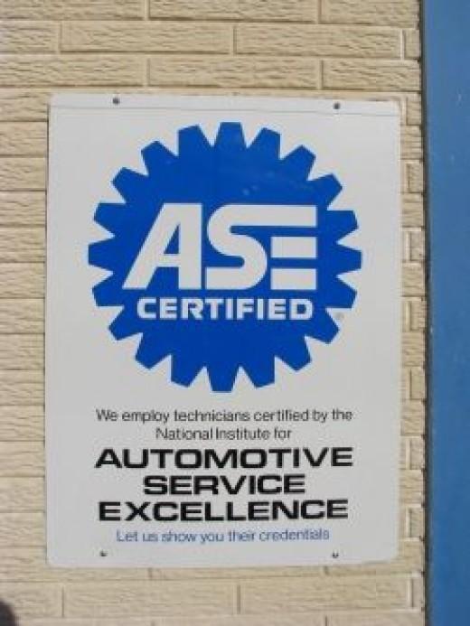 ASE Automotive Service Excellence