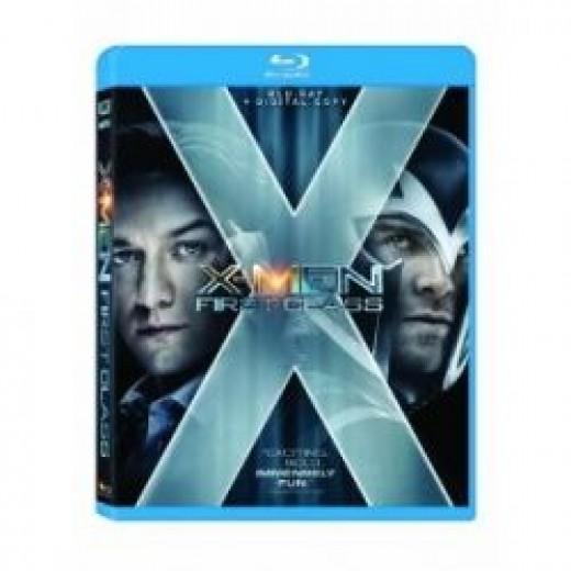 X-Men First Class Blu-Ray