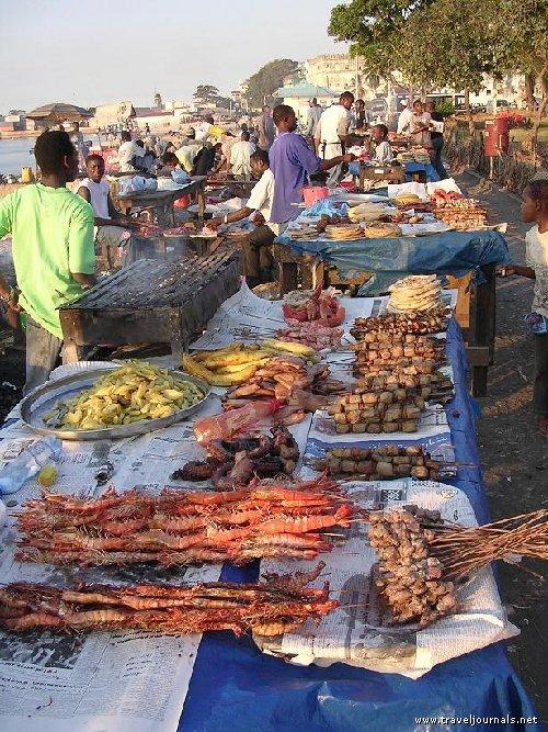 Fresh fish market!